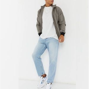ASOS Mens Relaxed Tapered Leg Jeans